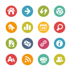 Surf the Net Icons -- Fresh Colors Series