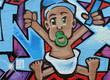 Fototapete Baby - Legere - Graffiti