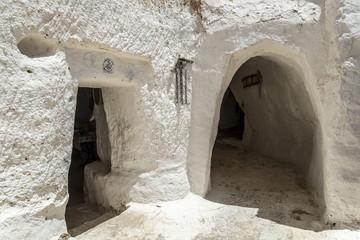 Casa cueva Túnez