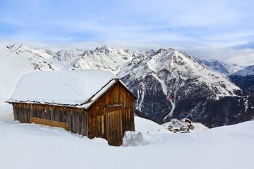 House at mountains - ski resort Solden Austria