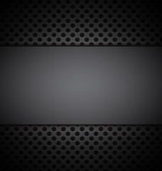 illustrate of gray grill texture background.