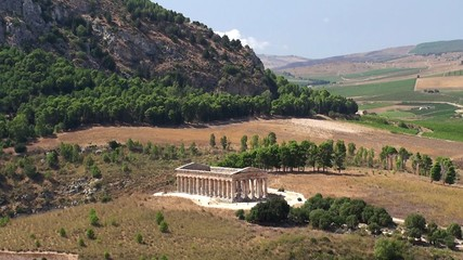 Doric temple of Segesta. Sicily