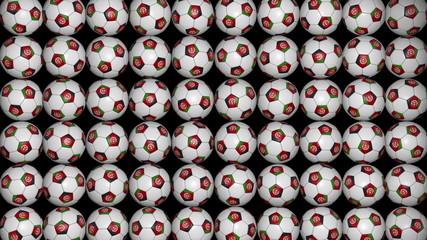 Afghanistan soccer balls background
