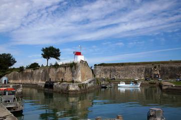 Remparts de la citadelle de Château d'Oléron