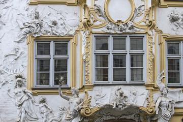 Asamhaus in München - Detailansicht