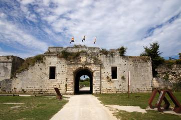 Porte royale de la citadelle de Château d'Oléron
