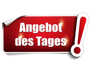 Angebot des Tages, shop button