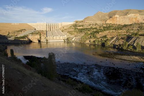 Foto op Canvas Dam Hidroelektrik