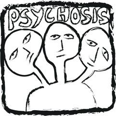 doodle concept psychosis