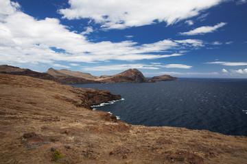 Mountain range along the Atlantic coast