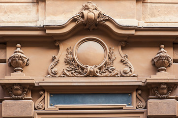 Architectural detail of old building