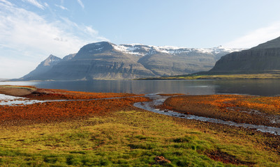 Berufjordur Fjord, Djupivogur Iceland