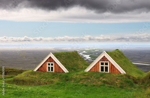 Traditional Farm Houses, Iceland