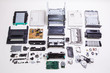 Disassembled printer on a white background - 70961699