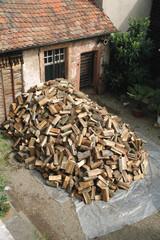 10 stères de bois en tas kazy