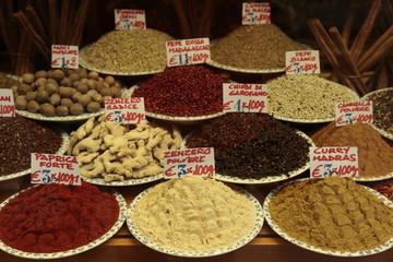 Venta de especias en Italia
