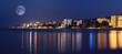 night landscape panorama sea hotels lights - 70964475