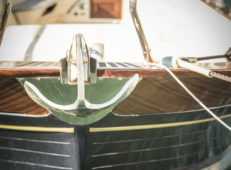 boat witth anchor