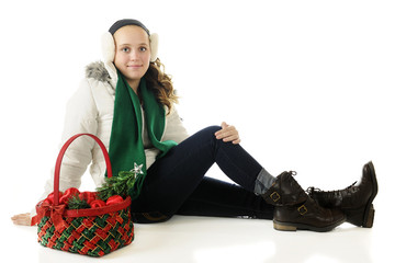 Pretty Christmas Tween