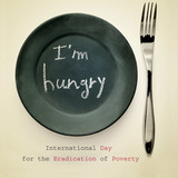 International Day for the Eradication of Poverty poster