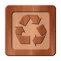 Bois en relief : recyclage