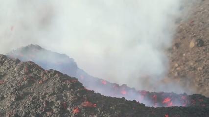 Etna eruption of July 16, 2014