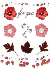 Création personnelle (fleurs et décoration)
