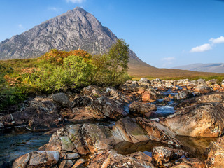 Buachaille Etive Mor in Autumn