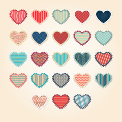 Valentines Pack hearts