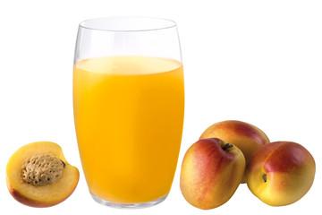 peach, juice