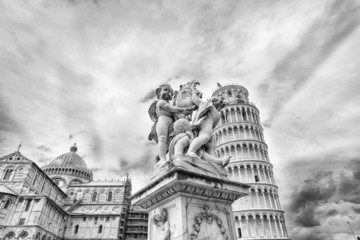 The Cathedral and Leaning Tower in Pisa