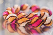 Beads, beadworks on a colored,   accessories - 70968682
