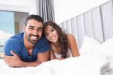 Fototapety Couple in bed
