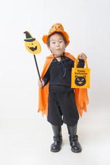 ハロウィンの子供