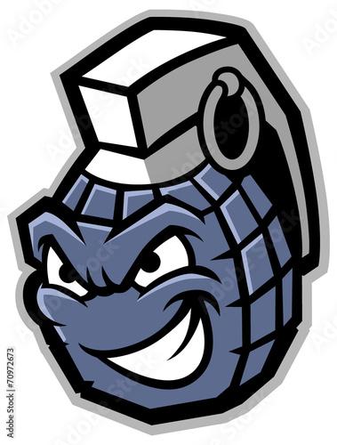 grenade mascot - 70972673
