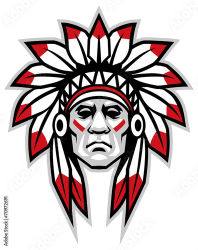 indian chief - 70972691
