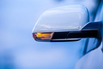 closeup of car
