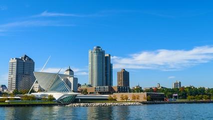 Milwaukee Wisconsin on a Sunny Day