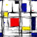 like Mondrian poster