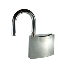 Opened lock