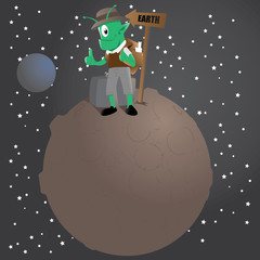 Alien Traveler