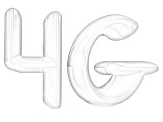 4g internet network. Pencil drawing