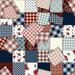 Seamless patchwork