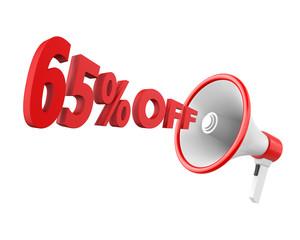 65% discount