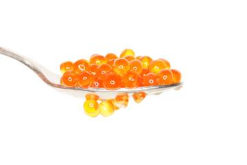 etwas leckerer und orangener kaviar