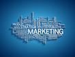 """Nuage de Tags """"MARKETING"""" (publicité communication marché)"""