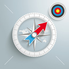 Compass Colored Target