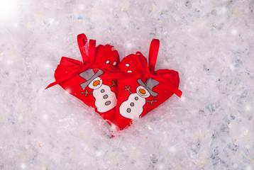 Christmas hearts