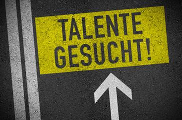 Asphalt mit Talente gesucht