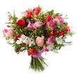 Leinwanddruck Bild - Freesia flowers bouquet